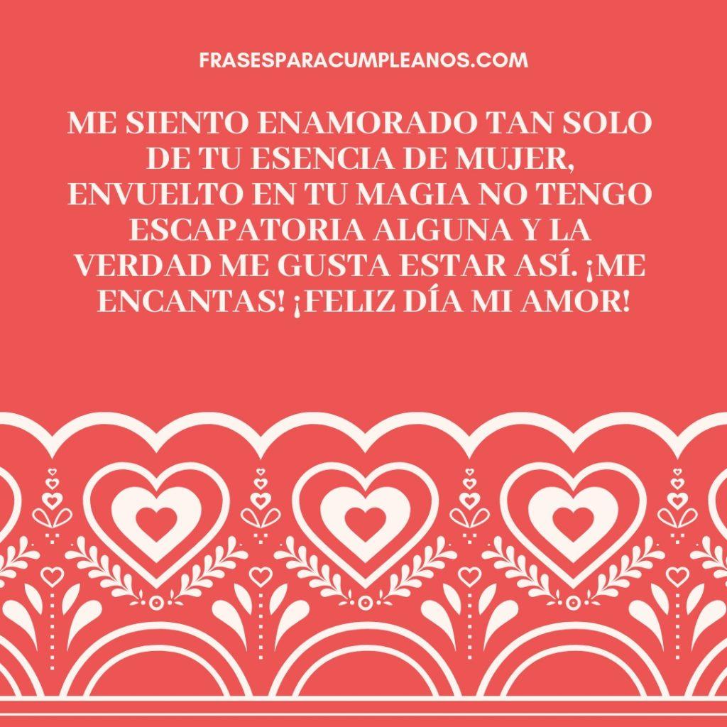 Mensajes De Felicitaciones Día De Los Enamorados Para Mujer Frasescumple