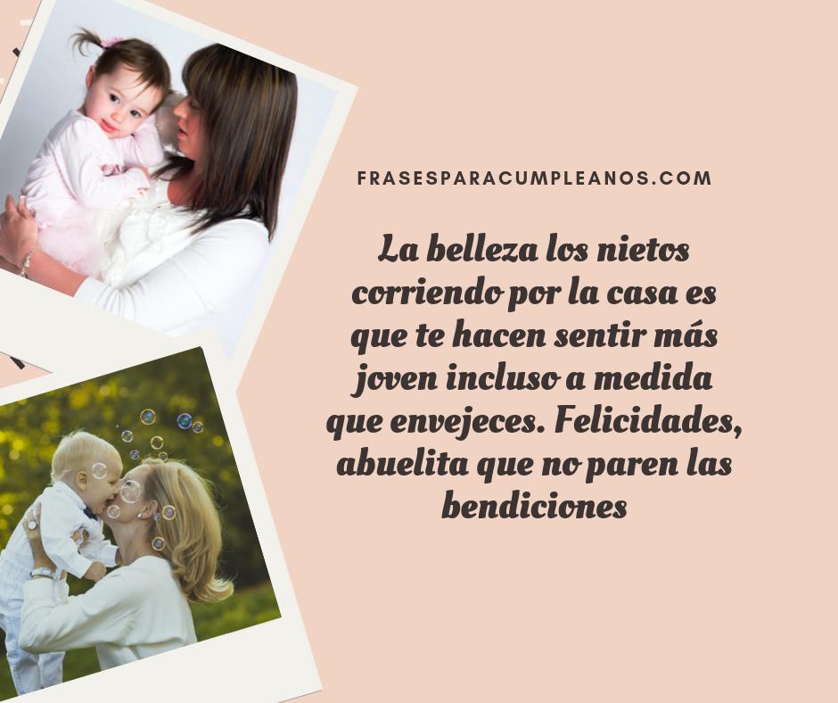 Felicitaciones Abuela Por Nacimiento Nieto Frasescumple