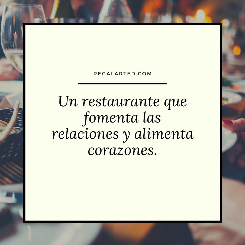 Frases para promocionar un restaurante